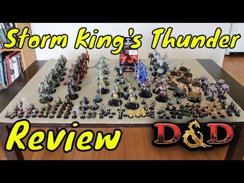 D&D (5e): Storm King's Thunder Miniatures Review (Spoiler Alert).