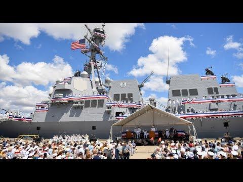 USS John Finn Commissioned
