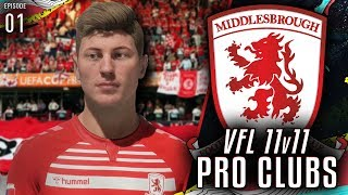 FIFA 20 Pro Clubs VFL | #1 | CUP FINAL TIME [11v11 Competitive]
