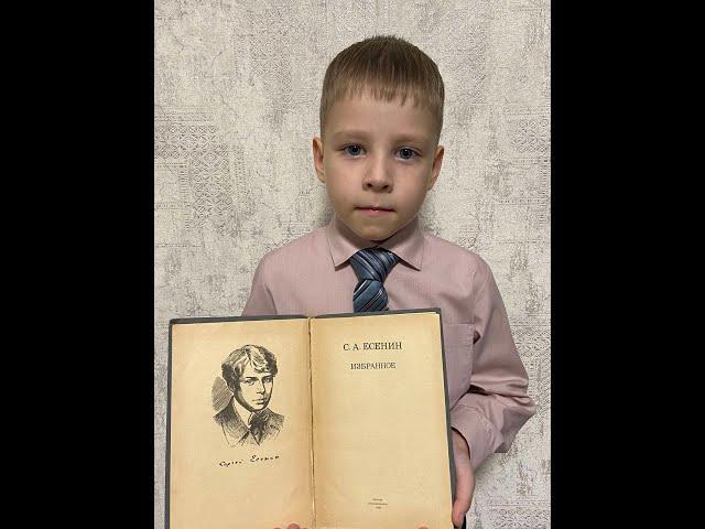 Изображение предпросмотра прочтения – ДмитрийКарчев читает произведение «Гляну в поле...» С.А.Есенина