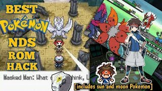 Best Pokémon NDS ROM for Android/PC ( including sun and moon Pokemon)