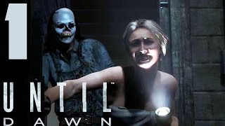 Until Dawn - Walkthrough Part 1 No Commentary  (PS4) (1080p)