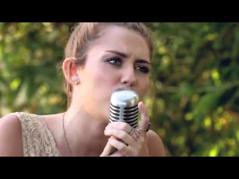 Miley Cyrus - The Backyard Sessions - 'Jolene' - YouTube