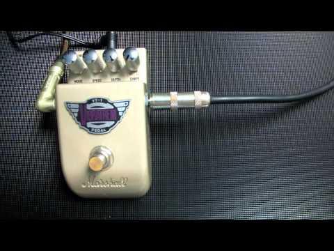 Marshall Vibratrem VT-1, vibrato/tremolo pedal, Msm workshop.