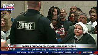 VAN DYKE SENTENCED: Former Chicago police officer given 81 months for killing teen Laquan McDonald