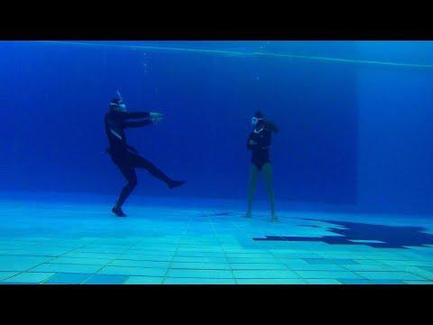 다이빙신들의 댄스배틀#프리다이빙 #freediving #다이빙신 #funnydining #funnyvideo