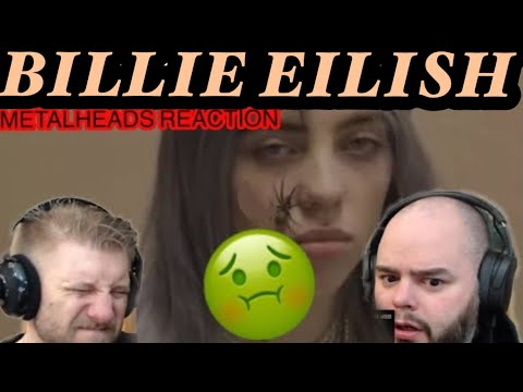 This One Shook Us !! BILLIE EILISH - YOU SHOULD SE ME IN A CROWN |  Metalheads Reaction