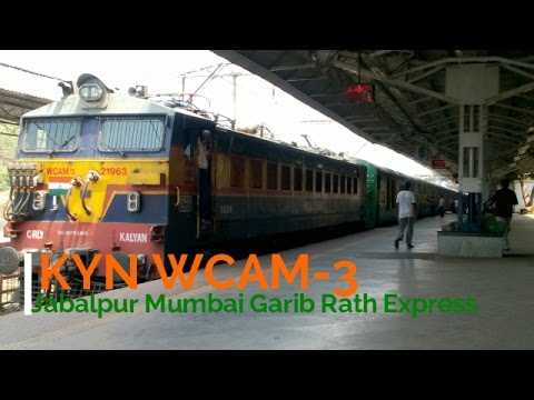 Short travel in 12187 Garib Rath Express (Kalyan to Dadar) || Indian Railways ||