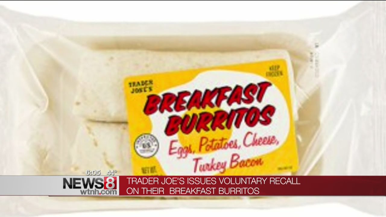 Frozen burritos recalled for possible listeria contamination