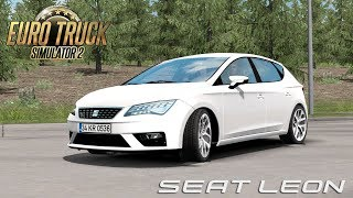 This is review about Euro Truck Simulator 2 Mods ====================================================== Mods: Seat Leon V1R4 (1.34) by trzpro, yellow1441 https://ets2.lt/en/seat-leon-v1r4-1-34/  JBX Graphics – Complete Package (10-1-2019) by JuanBonX (Mod