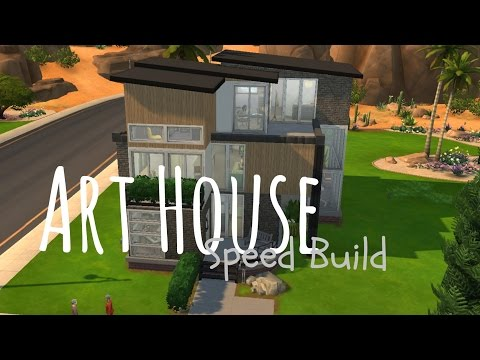 The Sims 4 Speed Build - Art House