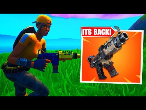 TAC SMG IS BACK! In Fortnite! Battle Royale Season X (Tactical SMG In Season X)