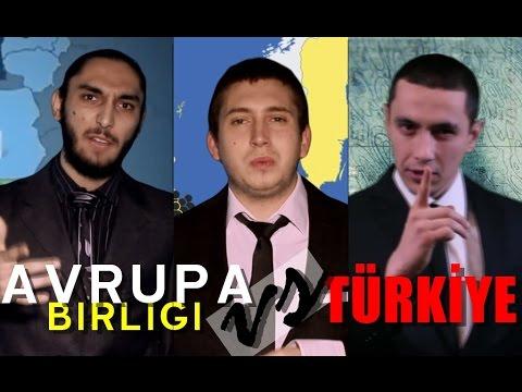 Avrupa Birliği Vs Türkiye | Destansı Rap Savaşları | DRS