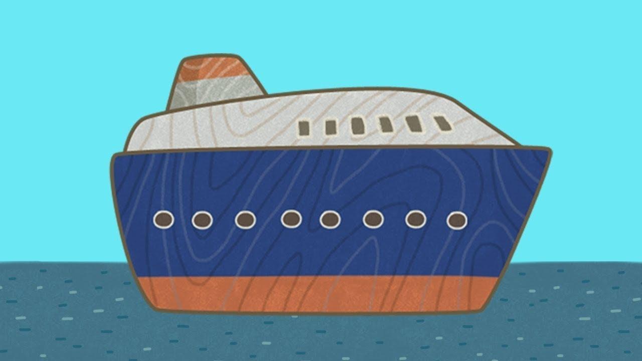 Car Toons: A Ferry. A Kids Cartoon & Kids' Vehicles