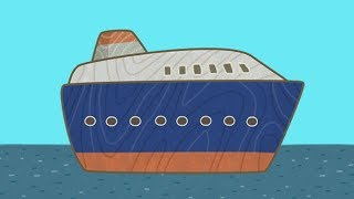 Car Toons: a Ferry. A Kids Cartoon & Kids' Vehicles