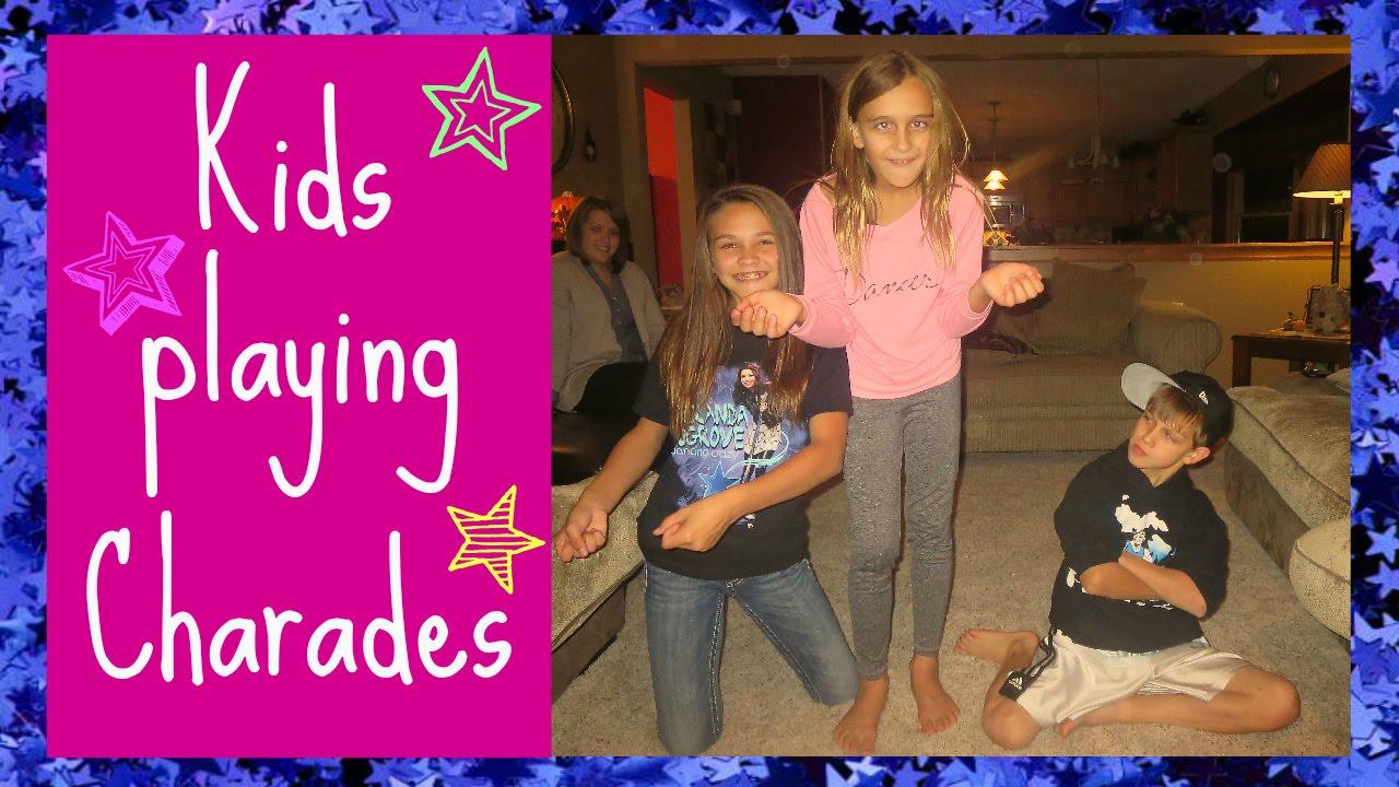 KIDS PLAYING CHARADES