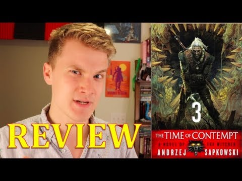 A TIME OF CONTEMPT (Book 3 of THE WITCHER series) by Andrzej Sapkowski- Book Review thumbnail