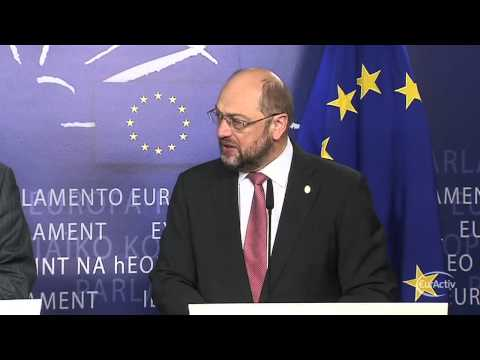 EP Schulz meets Cypriot president Nicos Anastasiades