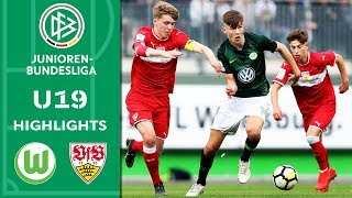 VfL Wolfsburg - VfB Stuttgart 3:4 n.E. | Highlights | A-Junioren-Bundesliga | Halbfinale Rückspiel