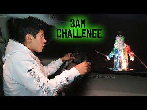 SCARIEST KILLER CLOWN SIGHTING ON NJ's SCARIEST ROAD // 3 AM OVERNIGHT CHALLENGE