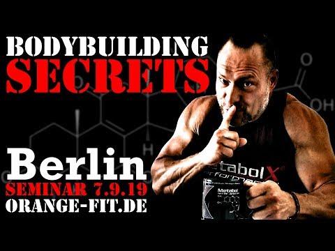 Bodybuilding Secrets - Das Seminar in Berlin 2019