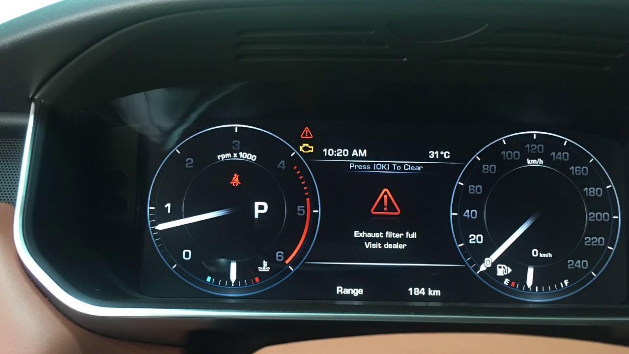 Evoque Range Rover >> Range Rover Exhaust Filter Full in Cambodia 'DPF' (078771772) - YouTube