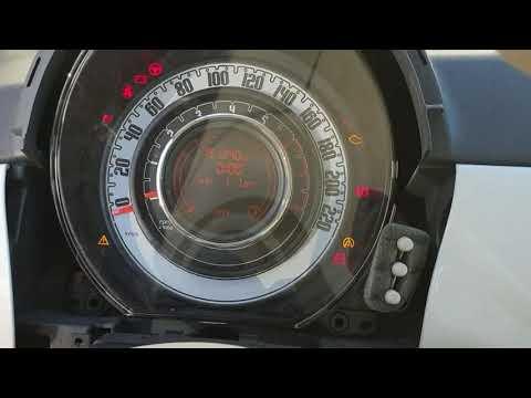 Odometer Fiat 500