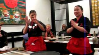 Benihana Birthday song!