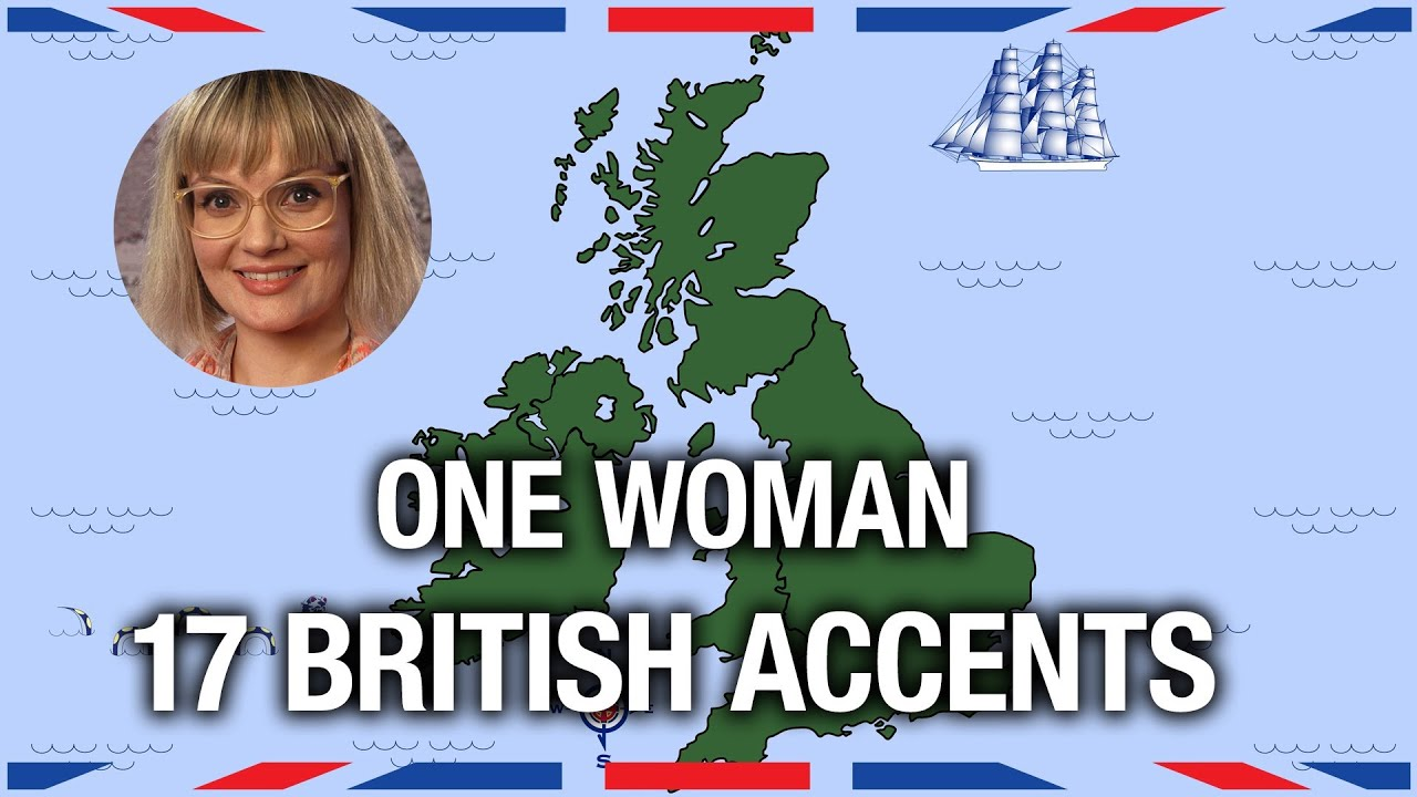 One Woman 17 British Accents  Anglophenia Ep 5  YouTube