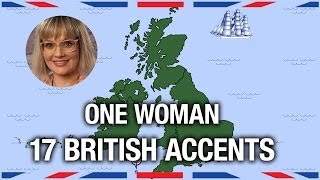 One Woman, 17 British Accents - Anglophenia Ep 5 Video