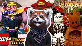 РОККИ играет в LEGO MARVEL SUPER HEROES 2! Часть 6: Русская Озвучка! 6+