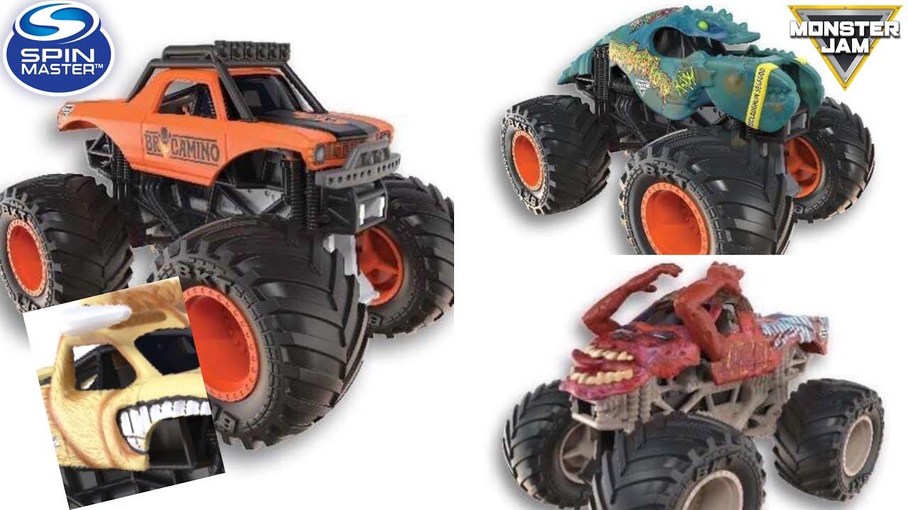 new poster reveal for 2021 brocamino bulldozer more spin master monster jam