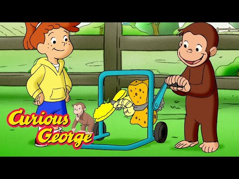 Curious George 🐵 George and Allie&39;s Car Wash 🐵 Kids Cartoon 🐵 Kids Movies 🐵 Cartoons for Kids