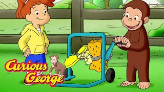 Curious George 🐵 George and Allie's Car Wash 🐵 Kids Cartoon 🐵 Kids Movies 🐵 Cartoons for Kids