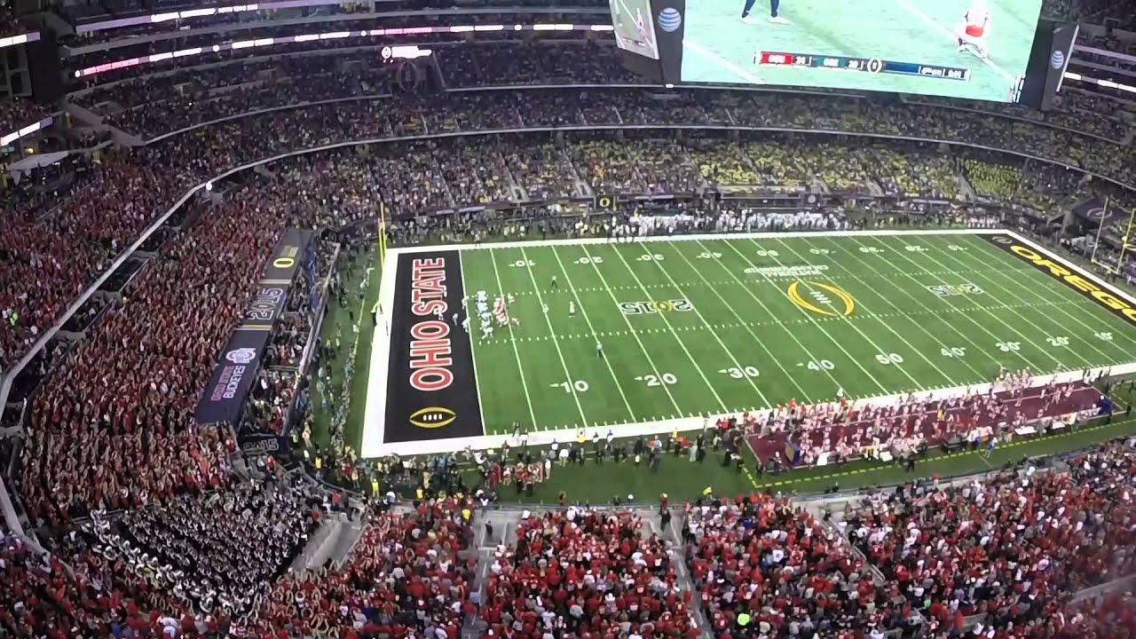 Ohio State V Oregon Football National Championship Highlights