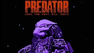 Let's Play Predator: Soon the Hunt Will Begin  - Horror Retrogaming - Playthrough with Commentary