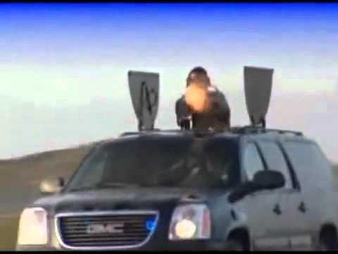 Obama S Motorcade Host This M134 Gatling Gun Suv Youtube