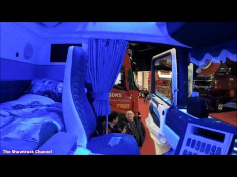 SHOWTRUCK INTERIORS #7 - SCANA V8 C. DOYLE