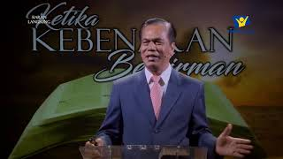 Pembicara : Pdt. K.R Sagala - Dir.Advent Mission UIKB