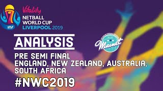 Netball World Cup 2019 Pre-Semi Final Analysis!