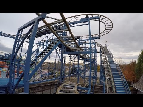 Hersheypark Wild Mouse POV HD GoPro Hero4 2014 Roller Coaster On-Ride Front Seat Mack Rides