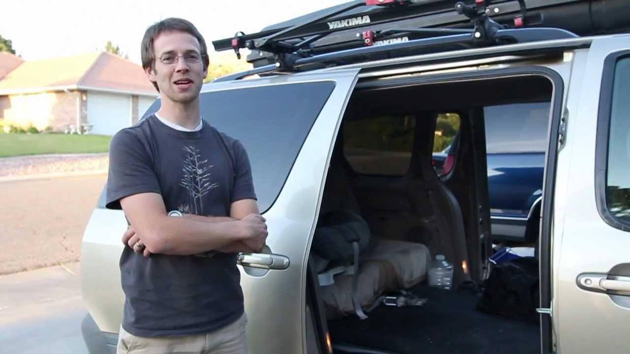 How to turn your Minivan into an RV  OutsideMomcom  YouTube