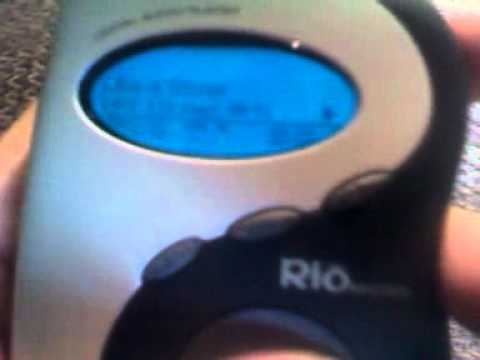 Rio 600 mp3 player review