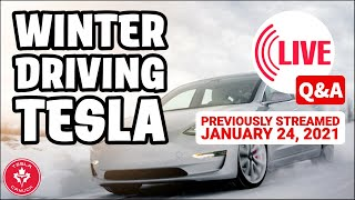 Driving a Tesla in the Winter LIVE Q&A (EVERYTHING you need to know)