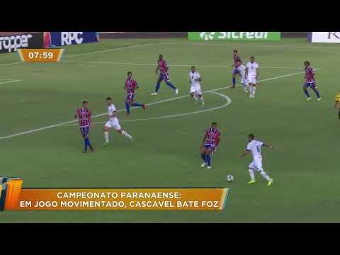 Esporte: Confira os gols da quarta rodada do Campeonato Paranaense 2019