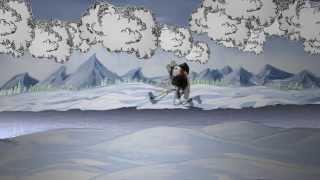 Der Nussknacker-Eis-Skater (Stop Motion Animation)