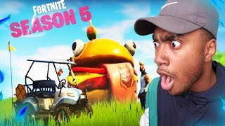 Fortnite Season 5 | 🔥 Reaction Video 😳😱 | Playground Mode 2.0 RETURNS ??