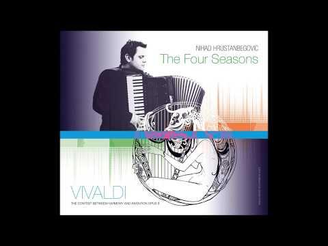 Vivaldi 4 Seasons - Winter Part II - Nihad Hrustanbegovic - Classical Accordion