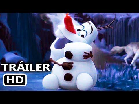 ÉRASE UNA VEZ UN MUÑECO DE NIEVE Tráiler Español DOBLADO (2020) Frozen, Disney +