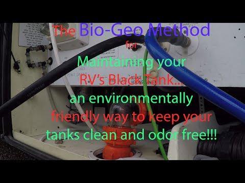 The Bio-Geo Method of RV Black Tank Maintenance.. Environmentally friendly